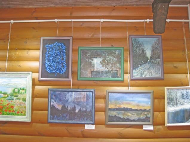 Выставка арт-студии А.К. Назарова «Воскресенский вернисаж»
